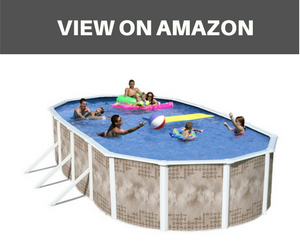 Heritage YO 241252SFP Yosemite Complete Above Ground Pool
