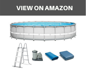 Intex 22x52 Ultraframe pool