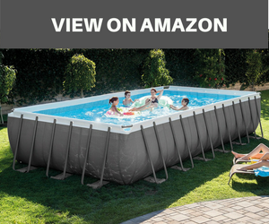 intex ultra frame rectangular above ground pools