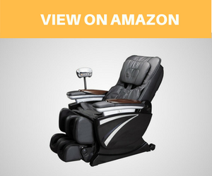 Zero Gravity Shiatsu Massage Chair Recliner Soft 3D Hand Massage EC01