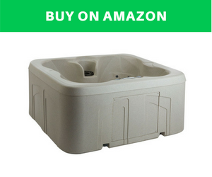 Lifesmart Rock Solid Plug And Play Hot Tub Spa
