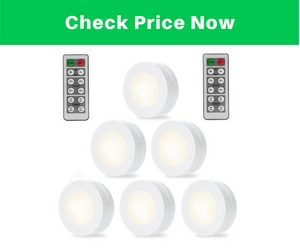SOLLED Wireless LED Puck Lights
