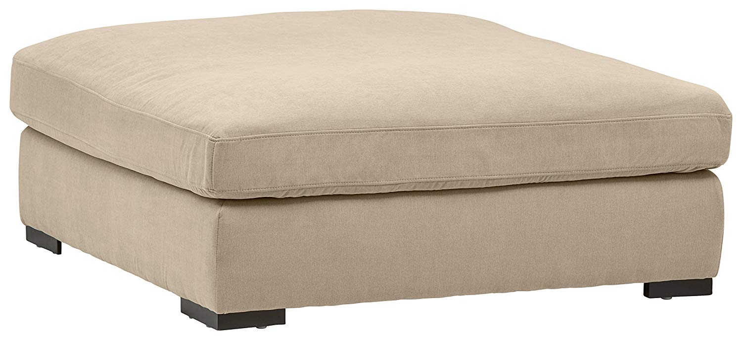 Stone & Beam Lauren Down Filled, Oversized, Ottoman
